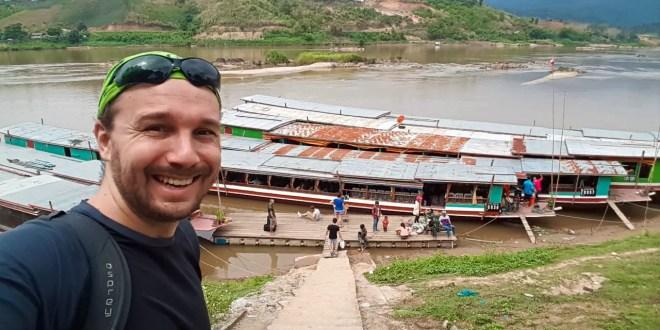 Selfie at Slow Boat in Laos
