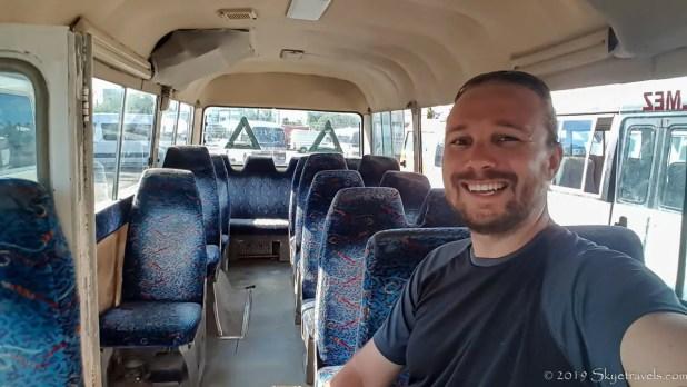 Selfie on the Bus to Kyrenia