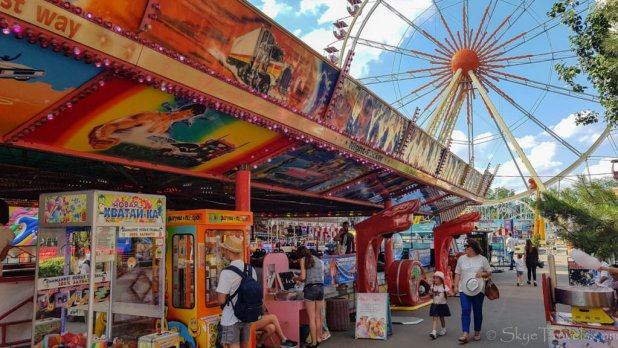 Luna Park in Odessa