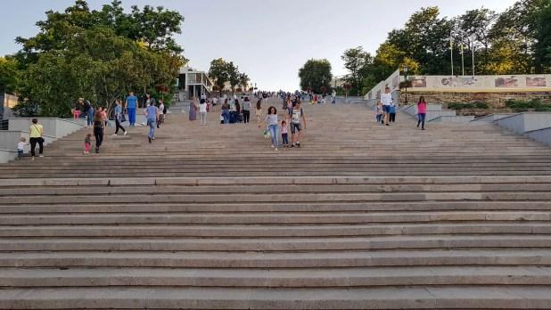 Potemkin Stairs in Odessa