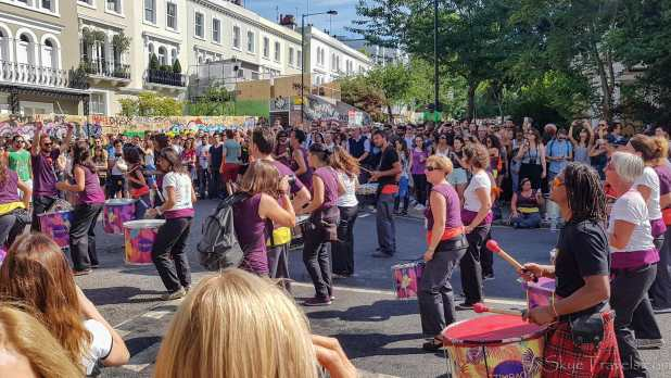 Steel Drums at Notting Hill Festival