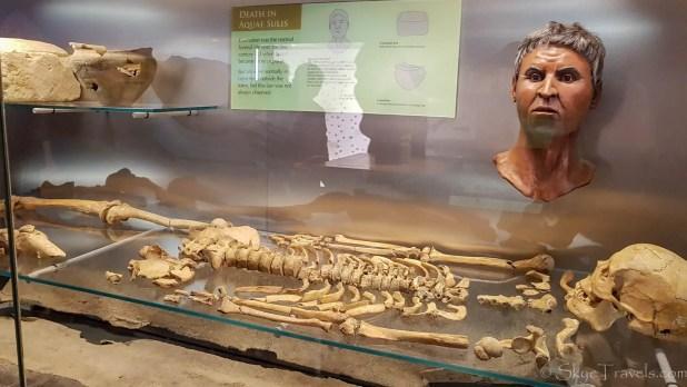 Roman Remains at the Roman Baths