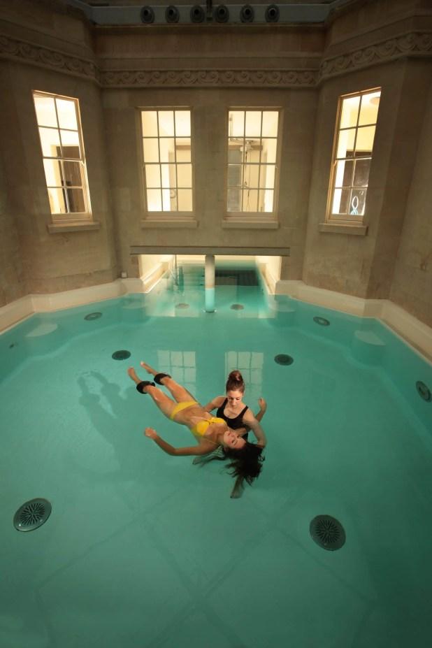 Watsu in the Hot Bath