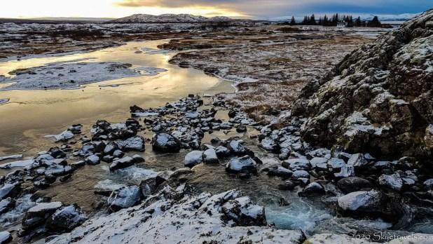 Iceland Lanscape at Sunrise