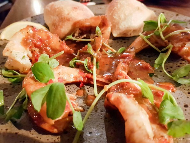King Prawns at Zizzi
