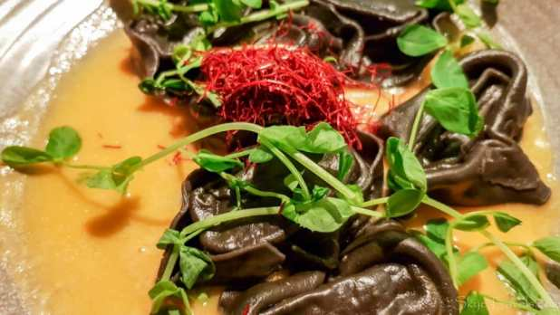 Squid Ink Lobster Tortelloni at Zizzi