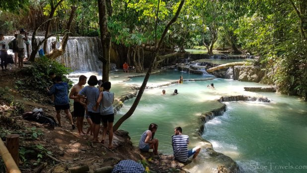 Kuang Si Waterfalls Pools