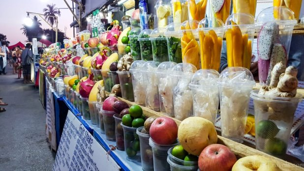 Smoothies in Luang Prabang
