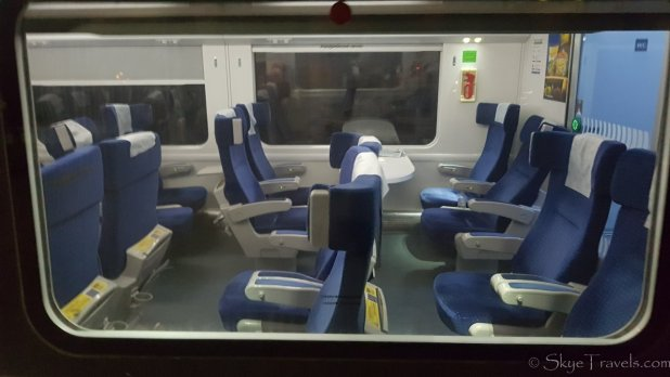 Modern Train in Ukraine