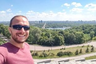 Selfie in Kiev