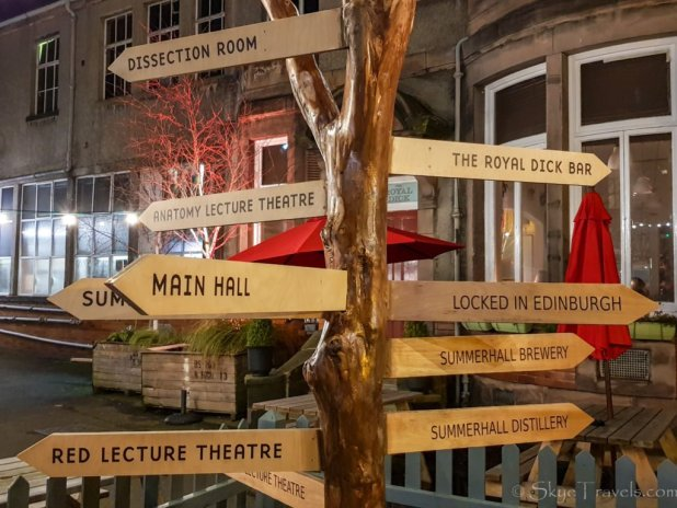 Summerhall Signs