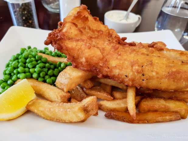 Glasgow Art Club Fish and Chips