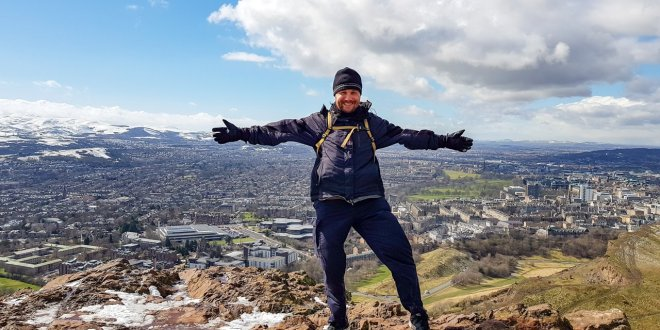 SkyeTravels at Arthur's Seat