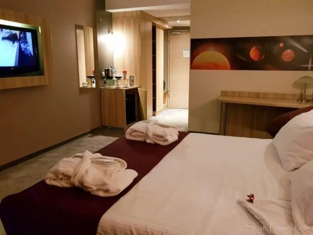Galaxy Hotel Bedroom
