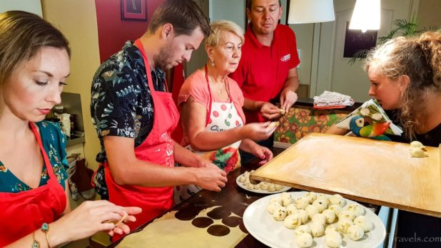 Homemade Pierogi Class