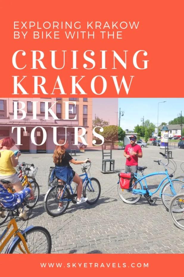 Krakow Bike Tour Pin