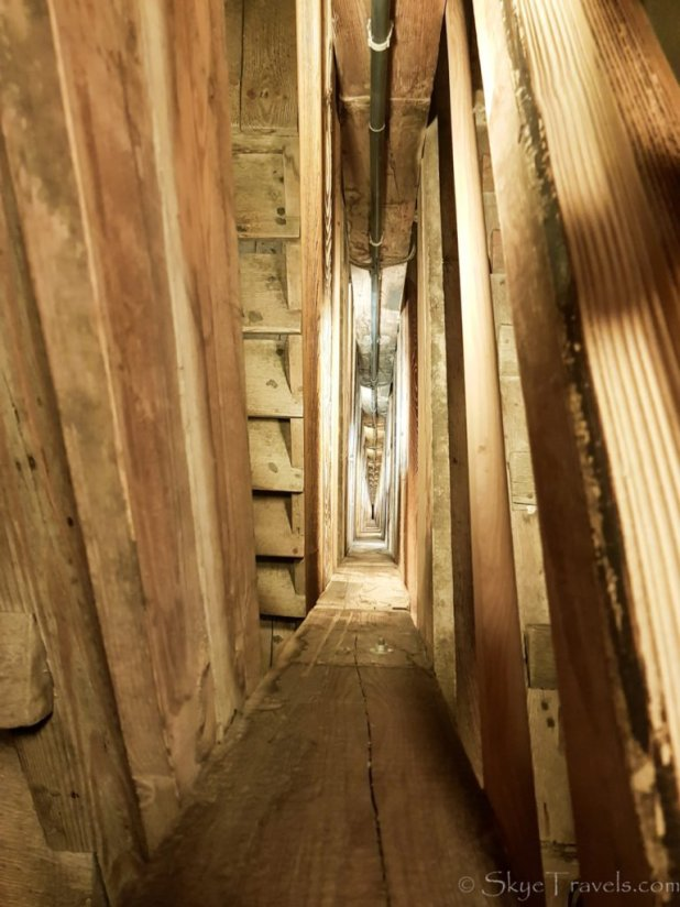 Salt Mine in Krakow Stairs