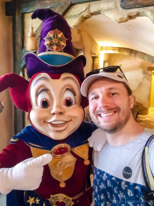 Selfie with Pardoes at Efteling
