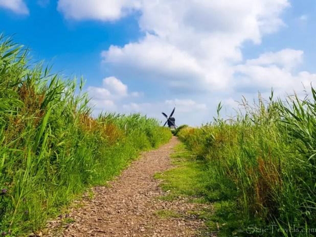 Trail in Kinderdijk