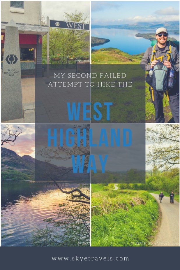 Hiking the West Highland Way has been on my bucket list since I first learned about it in 2015. I had a failed attempt to hike the Way in 2016, and I'm sad to say I have another failure to add to the list this year. So what went wrong? #WestHighlandWay #HikeScotland