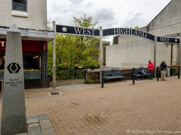 West Highland Way Trailhead