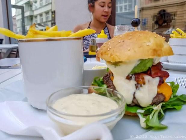 Bistro Boule za Ušima Hamburger in Ostrava