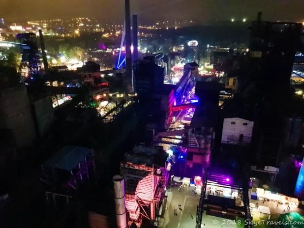 Colours of Ostrava Venue at night