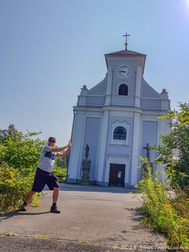 Leaning Church of Saint Peter of Alcantara