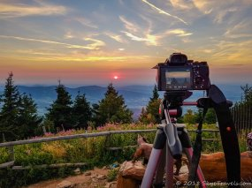Lysa Hora Sunset