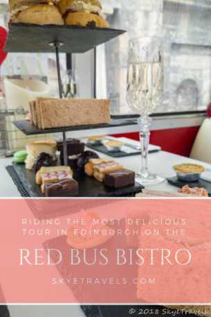 Red Bus Bistro Pin
