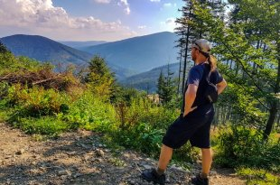 Selfie in Beskydy Mountains
