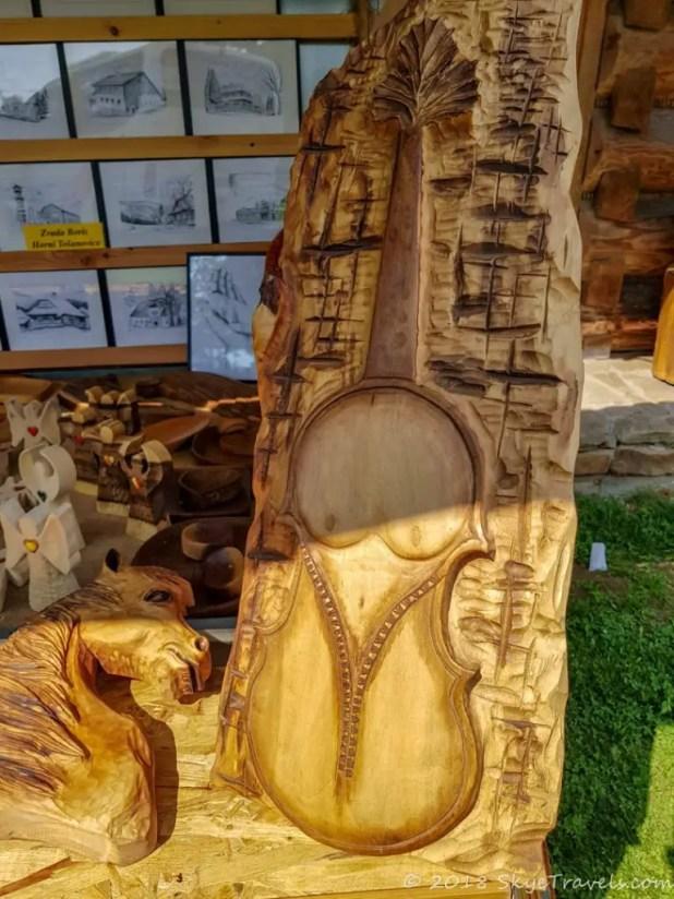 Wood Carvings in Mosty u Jablunkova