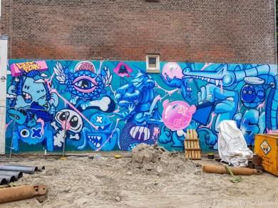 Covered Up Rotterdam Street Art