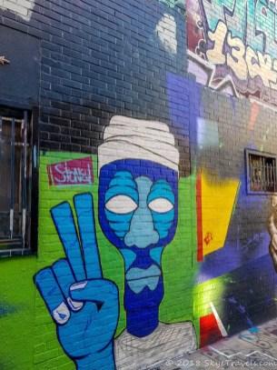Graffiti Alley in Ghent #10