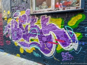 Graffiti Alley in Ghent #14