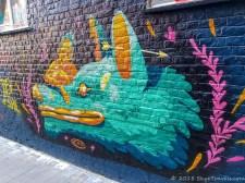 Graffiti Alley in Ghent #15