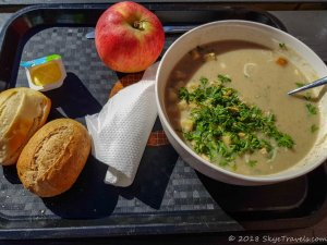 Mushroom Soup from Souplounge in Ghent
