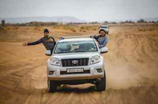 4x4 Ride on the African Desert Safari #1