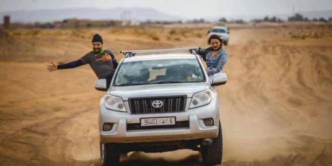 4x4 Ride on the African Desert Safari #1