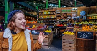 Ella Delivering the London Food Tour