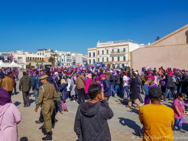 Essaouira Protest