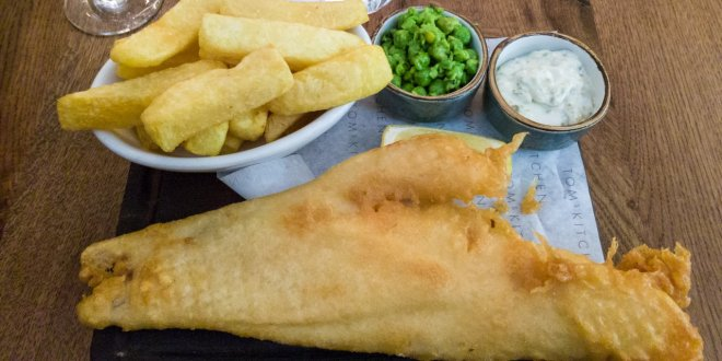 Tom's Kitchen Fish and Chips