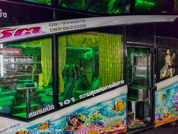 Songserm Bus from Krabi to Bangkok