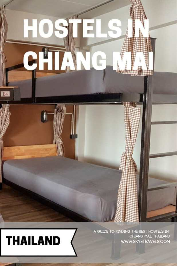 Chiang Mai is my winter home base. I usually rent a condo here, but I\'ve stayed in over a dozen hostels all around town. Here\'s my list of the best hostels in #ChiangMai. #TangmoHouse #Bebeez #Hostels #BudgetTravel #Podstel #PodHostel #VisitChiangMai #VisitThailand