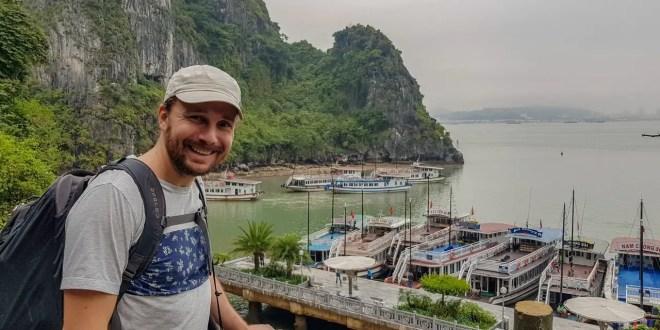 Selfie on Dau Go Island