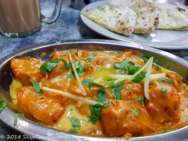 Butter Chicken at Indian Cafe in KL