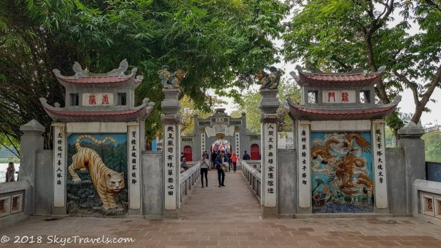 Ngoc Son Temple Attractions in Hanoi