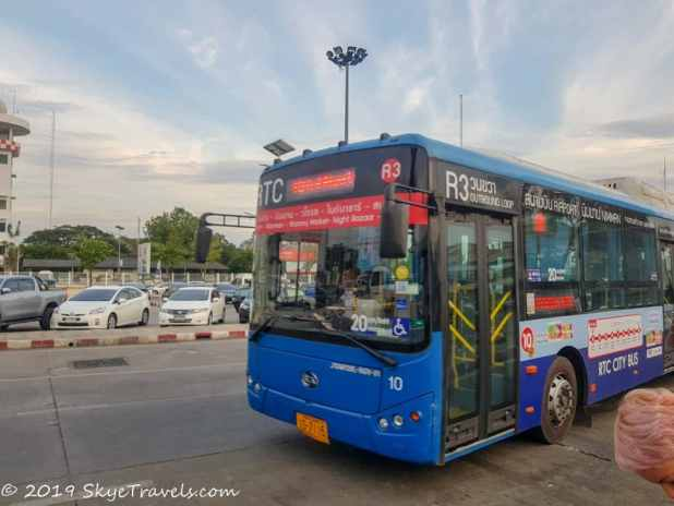 New Chiang Mai Bus