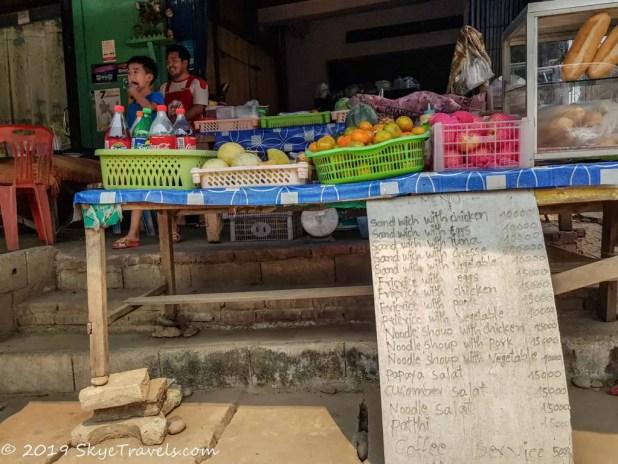 Breakfast Shop in Huay Xai