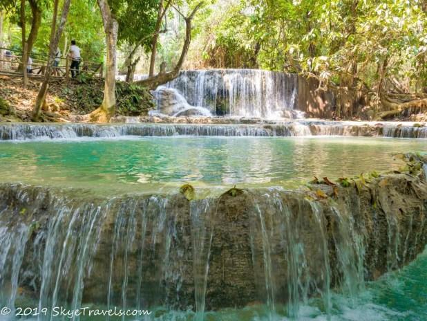 Kuang Si Waterfalls Close-Up